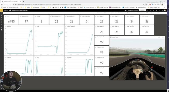 Criando uma telemetria e conectando em tempo real o Power BI ao jogo Assetto Corsa